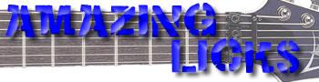 Shred Guitar Licks